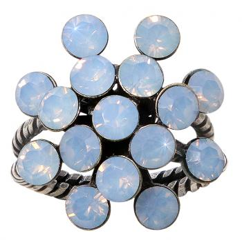 Konplott Ring Magic Fireball Blau Opal