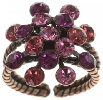 Konplott Ring Magic Fireball coralle dunkel rosa