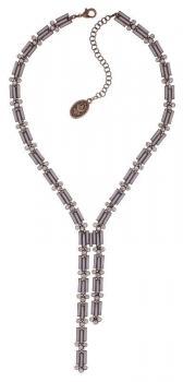 Konplott Halskette Graphic Flow rosa groß