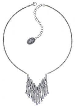 Konplott Halskette Graphic Flow weiß