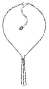 Konplott Halskette Graphic Flow weiß Y