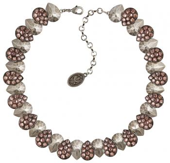Konplott Halskette Tears of Joy beige rosa Collier
